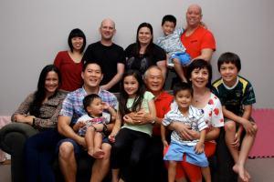 Antony's family