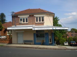 Penshurst Physio - Corner of Railway Parade and Pacific Avenue