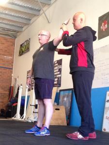 Assessment during a seminar at CrossFit Base